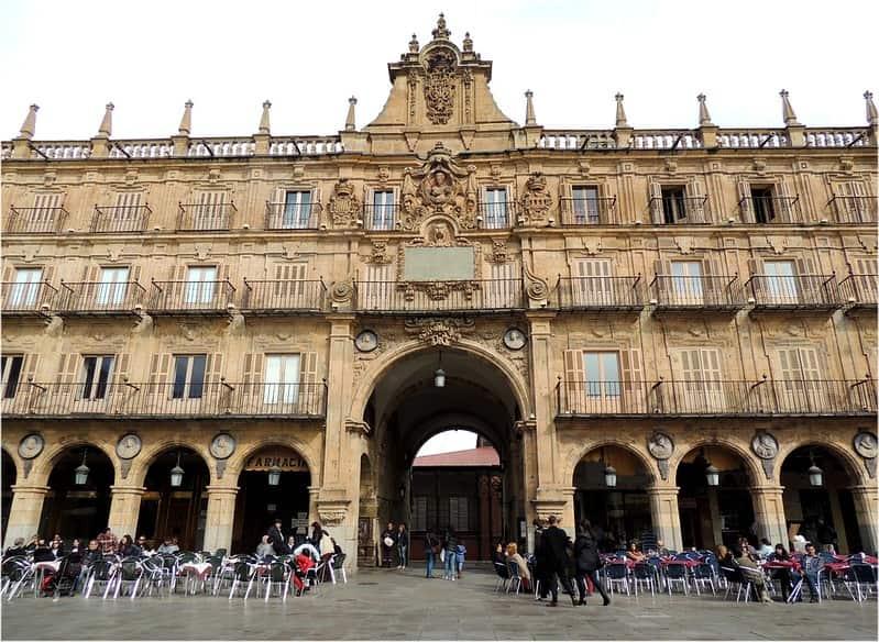 Pabellón Real de la Plaza MAyor de Salamanca