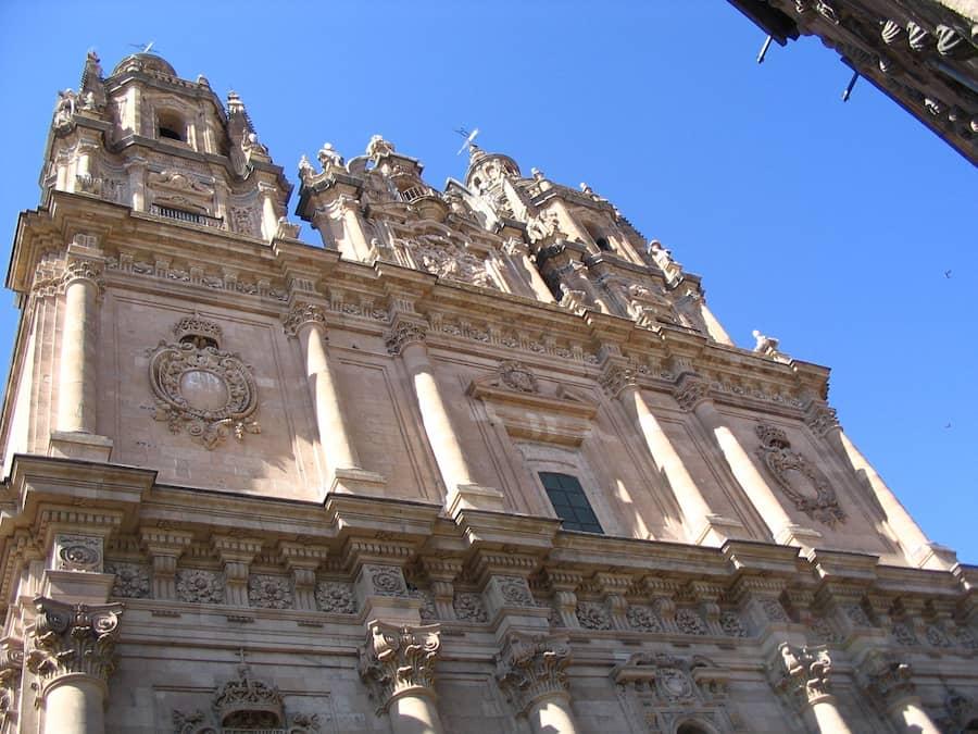 Fachada Iglesia Clerecía Salamanca