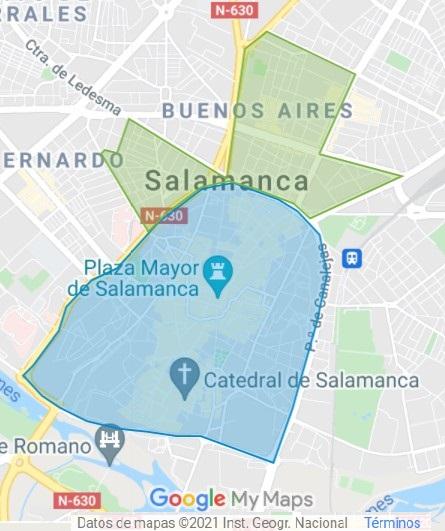Zona Azul Salamanca