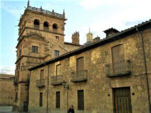 Palacio de Monterrey desde la Calle Prior