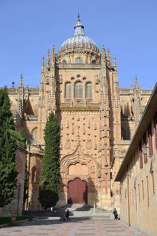 Fachada sur de la Catedral de Salamanca