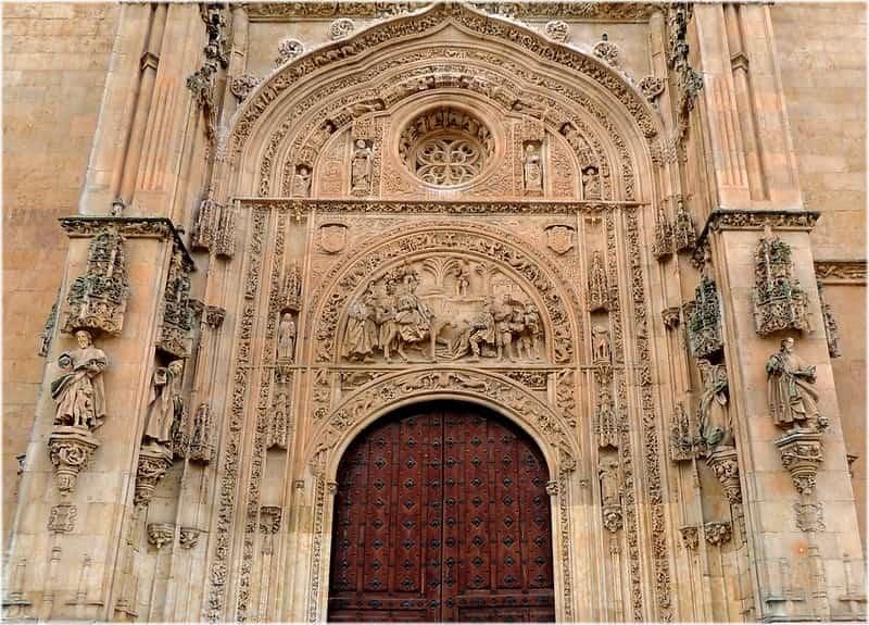 Fachada Norte de la Catedral de Salamanca
