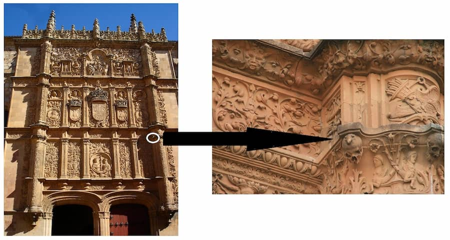 Donde está la Rana de Salamanca