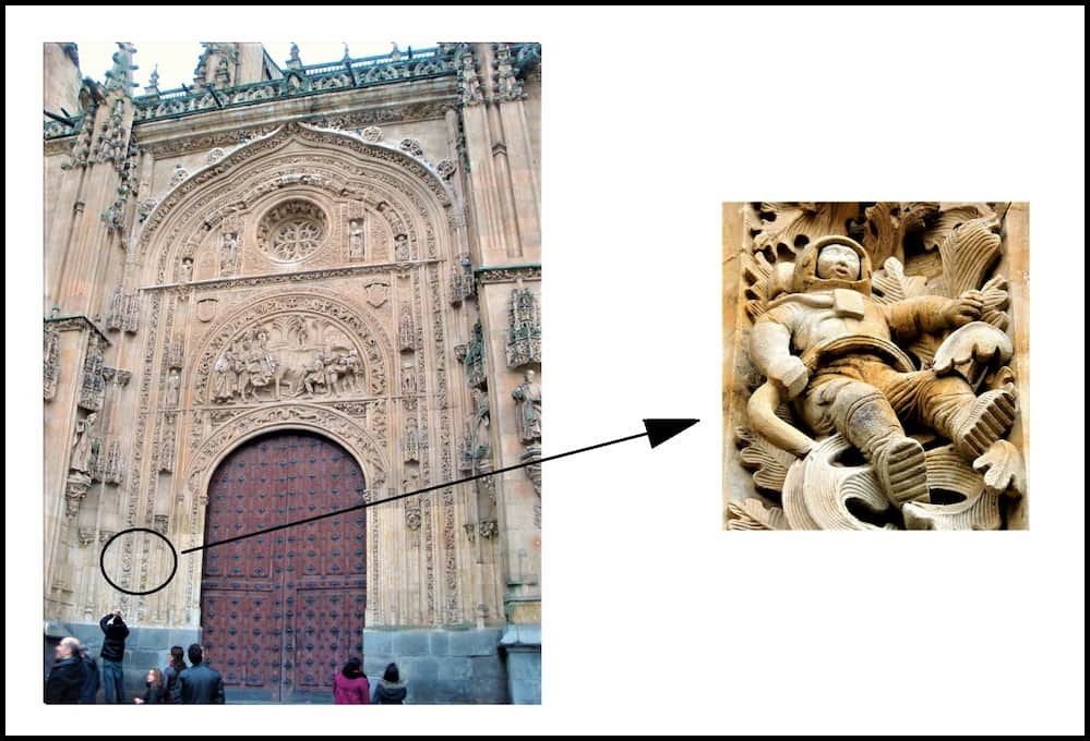 Astronatua de la Catedral de Salamanca