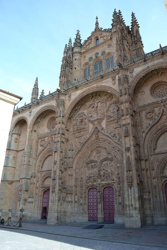 Fachada oeste Catedral de Salamanca