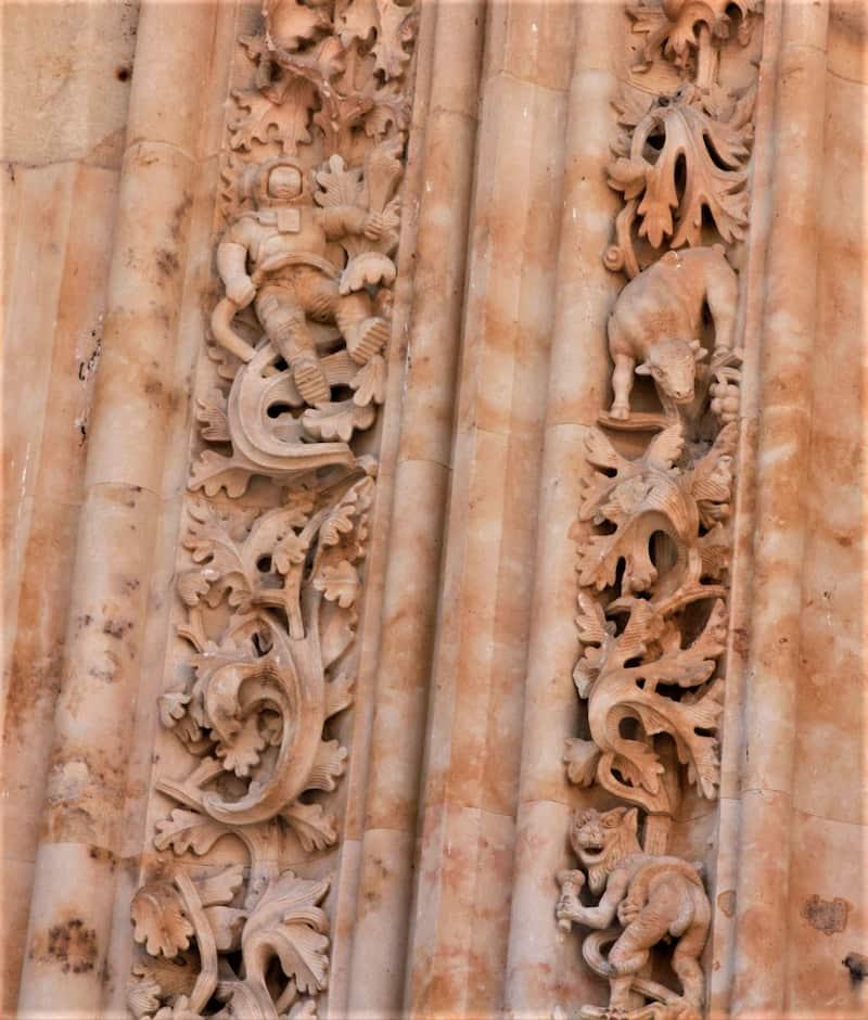 Detalles de la Fachada de la Catedral