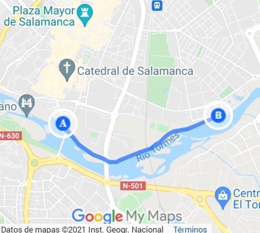 Paseo Fluvial de Salamanca