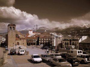 Plaza Mayor de Bejar