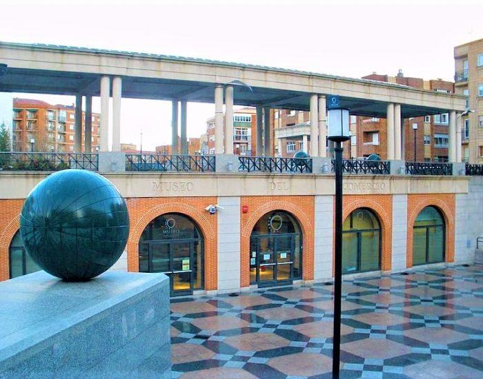 Fachada del Museo del Comercio y la Industria de Salamanca
